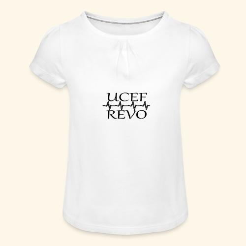 UCEF REVO - T-shirt à fronces au col Fille