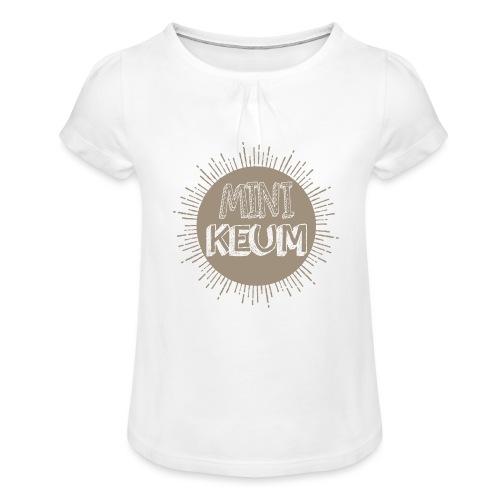 Grossesse - T-shirt à fronces au col Fille