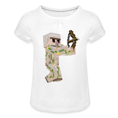 Bow Shooter - T-shirt med rynkning flicka