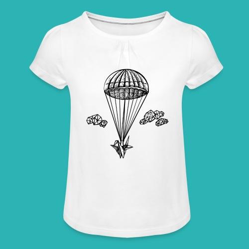 Veleggiare_o_precipitare-png - Maglietta da ragazza con arricciatura