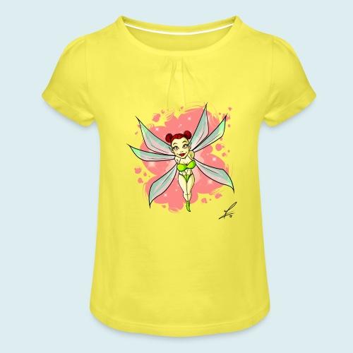fairy - Maglietta da ragazza con arricciatura