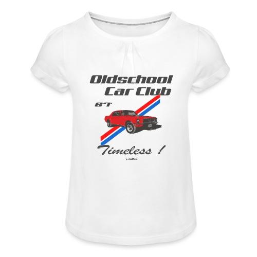 Mustang 67 - T-shirt à fronces au col Fille