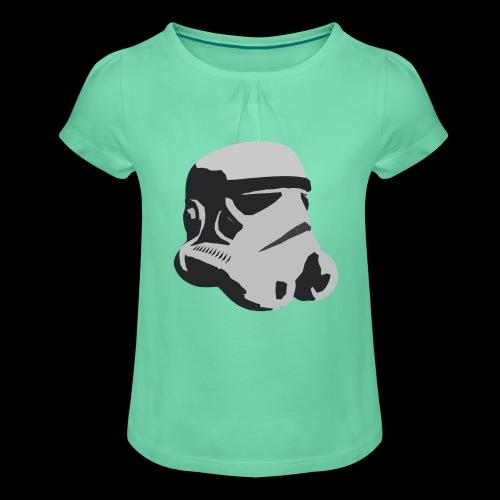 Stormtrooper Helmet - Girl's T-Shirt with Ruffles