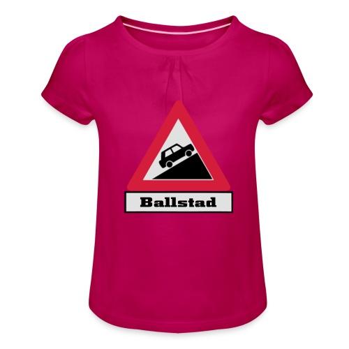 brattv ballstad a png - Jente-T-skjorte med frynser