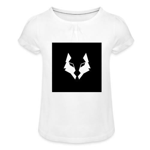 La Meute Big Logo - T-shirt à fronces au col Fille
