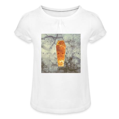 Kultahauta - Girl's T-Shirt with Ruffles