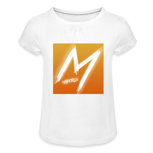 MegaTaza - Girl's T-Shirt with Ruffles