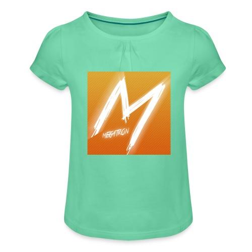 MegaTaza - Girl's T-Shirt with Ruffles