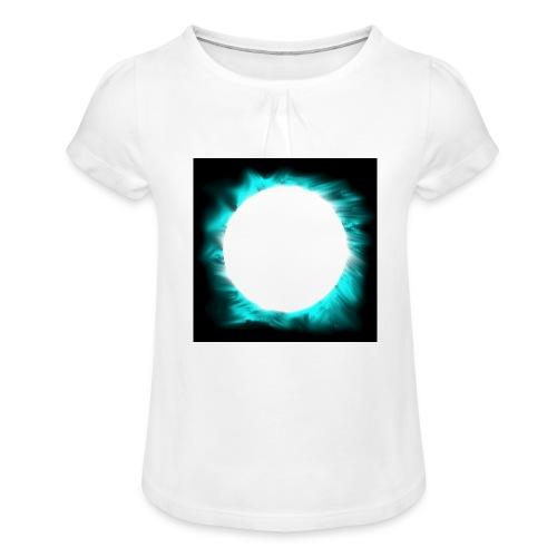 dot png - Girl's T-Shirt with Ruffles