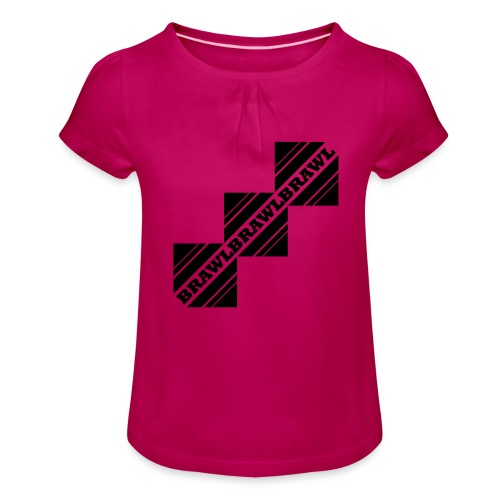 BRAWL TEST - Meisjes-T-shirt met plooien