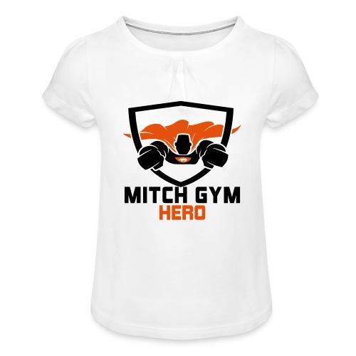 FLYING HERO - Meisjes-T-shirt met plooien