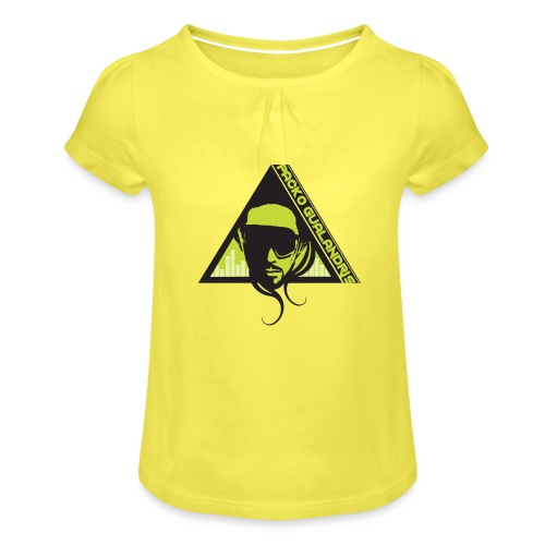PACKO LOGO 2017 RGB PNG - Girl's T-Shirt with Ruffles
