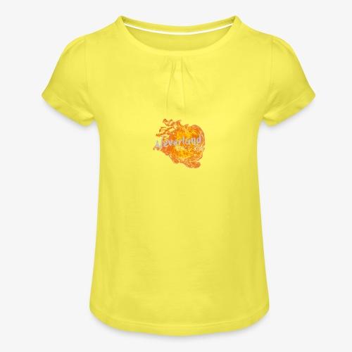 NeverLand Fire - Meisjes-T-shirt met plooien