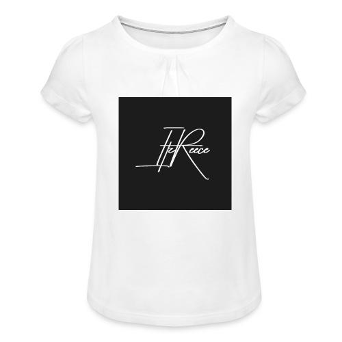 ItzReece Merch - Girl's T-Shirt with Ruffles
