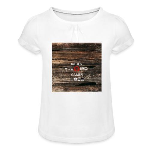 Jays cap - Girl's T-Shirt with Ruffles