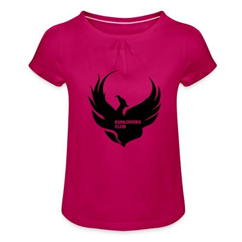 Runlovers Club v2 - Maglietta da ragazza con arricciatura