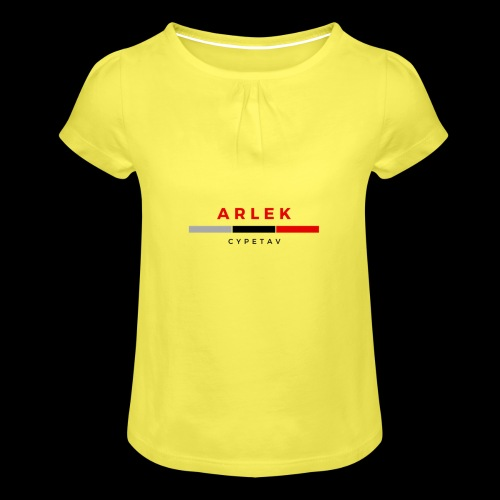 Arlek Cypetav - T-shirt à fronces au col Fille