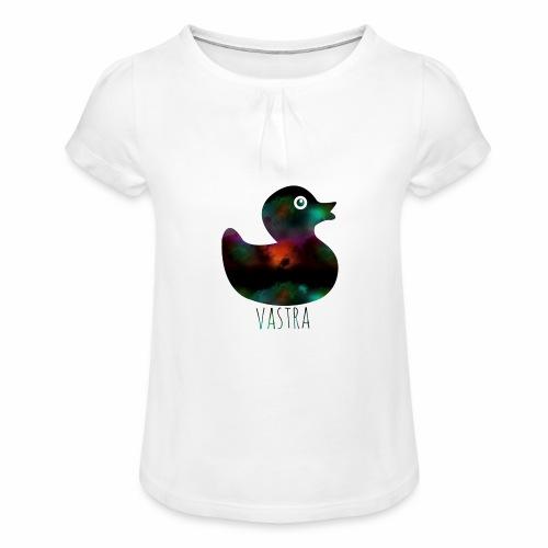 canard - T-shirt à fronces au col Fille