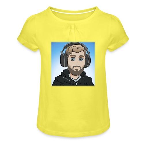 KalzAnimated - Pige T-shirt med flæser