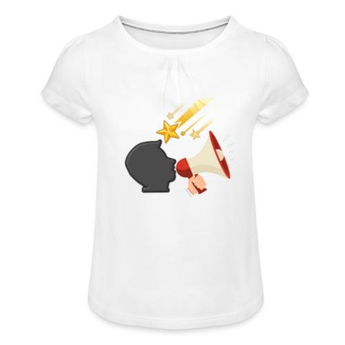 Christian Youtubers - Girl's T-Shirt with Ruffles
