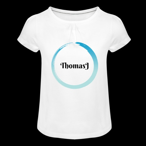 ThomasJ 2018 Edition - Maglietta da ragazza con arricciatura
