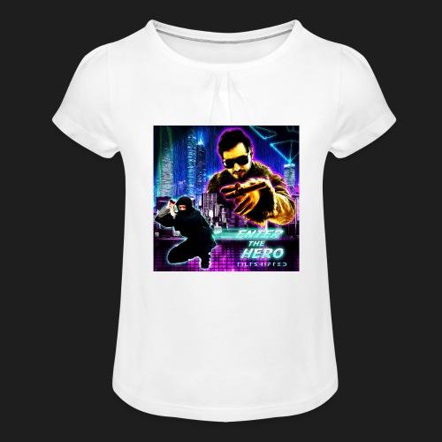 Enter the Hero - Tyttöjen t-paita, jossa rypytyksiä