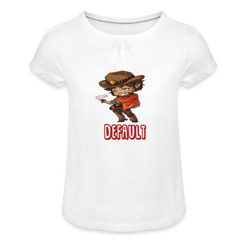 DeF Clan logo - Jente-T-skjorte med frynser