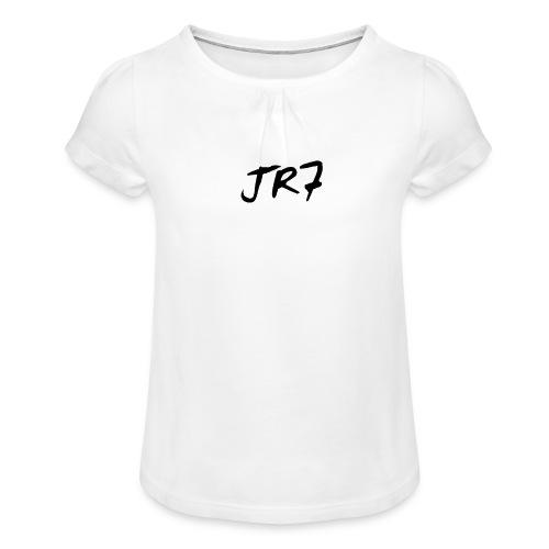 jr71 - Mädchen-T-Shirt mit Raffungen