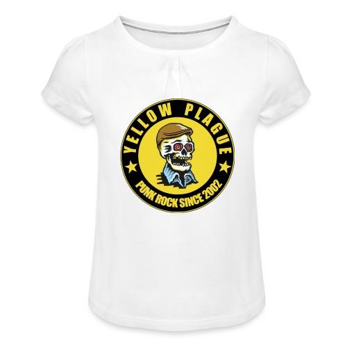 New logo - Tyttöjen t-paita, jossa rypytyksiä