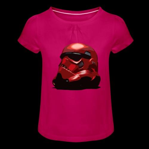 Guardian Trooper - Girl's T-Shirt with Ruffles
