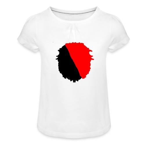 My merch - Girl's T-Shirt with Ruffles