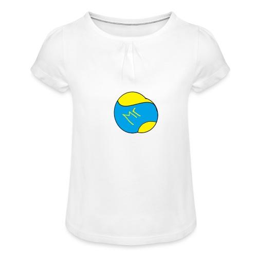 mr hav3rgyn logo - Pige T-shirt med flæser
