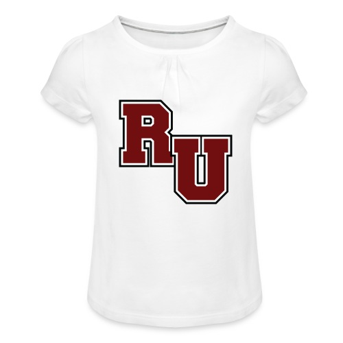 rusk - Girl's T-Shirt with Ruffles
