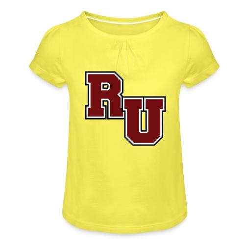 rusk - Girl's T-Shirt with Ruffles
