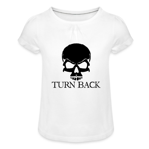 Skill - Girl's T-Shirt with Ruffles