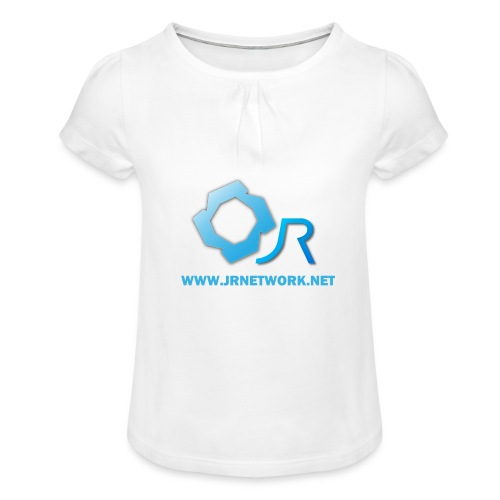 Official Logo - Girl's T-Shirt with Ruffles