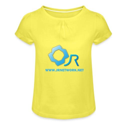Official Logo - Girl's T-Shirt with Ruffles