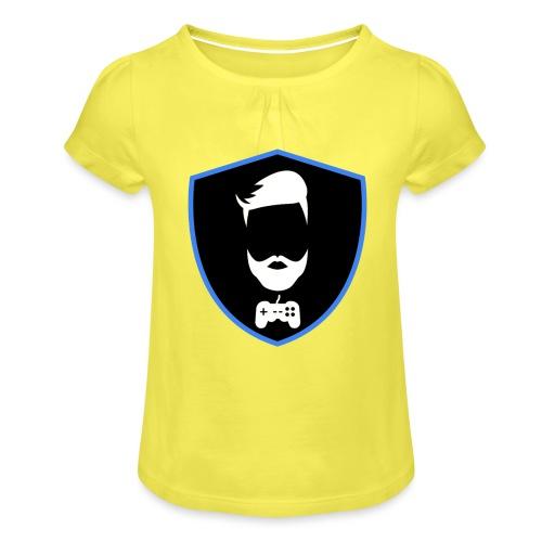 Kalzifertv-logo - Pige T-shirt med flæser