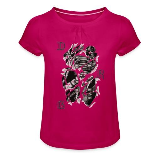 DRAGSTER WEAR - Maglietta da ragazza con arricciatura