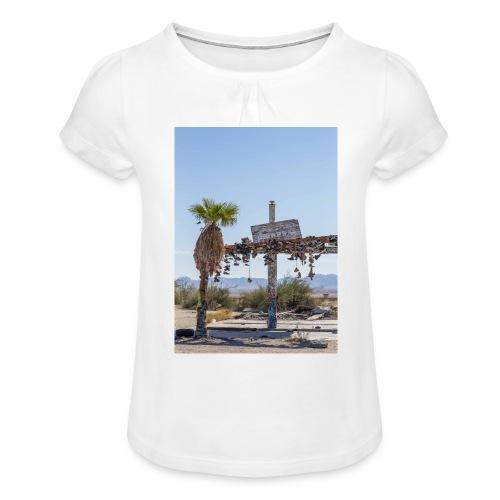 by Mazja Hillestrøm - Pige T-shirt med flæser