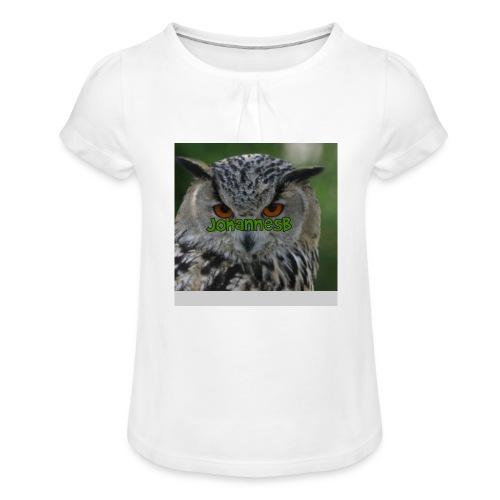 JohannesB lue - Jente-T-skjorte med frynser