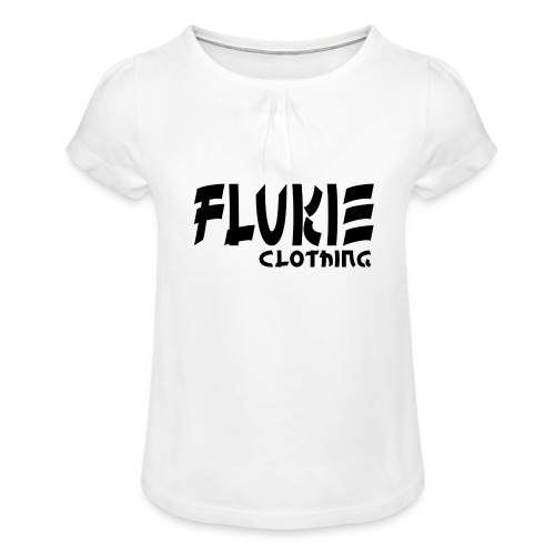 Flukie Clothing Japan Sharp Style - Girl's T-Shirt with Ruffles