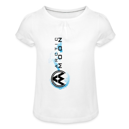 4 png - Girl's T-Shirt with Ruffles