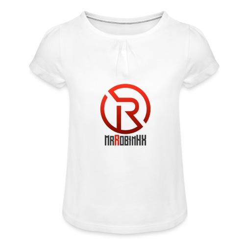 MrRobinhx - Jente-T-skjorte med frynser