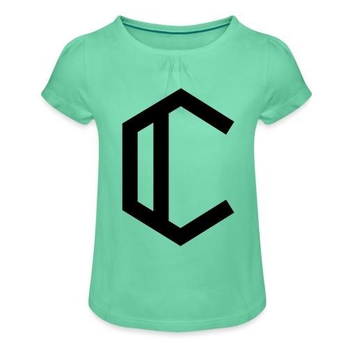 C - Girl's T-Shirt with Ruffles