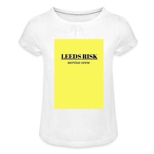 leeds risk - Girl's T-Shirt with Ruffles