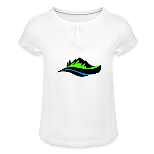 Modern Hoodie Unisex - T-shirt med rynkning flicka