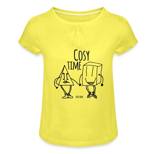 couple like that - Girl's T-Shirt with Ruffles