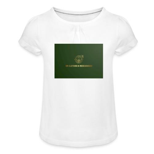 NM Clothing & Merchandise - Pige T-shirt med flæser