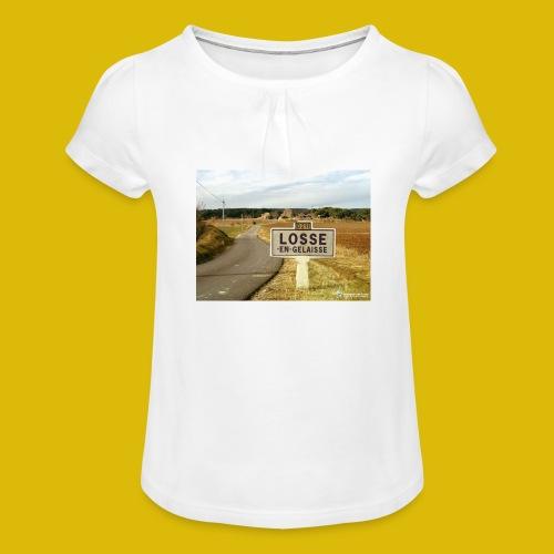 la LOOSE en gelée - T-shirt à fronces au col Fille
